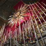 A Gandino la raggiera s'illumina nel giorno del Corpus Domini